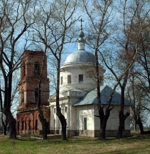 Скорбященская церковт села Ивановское